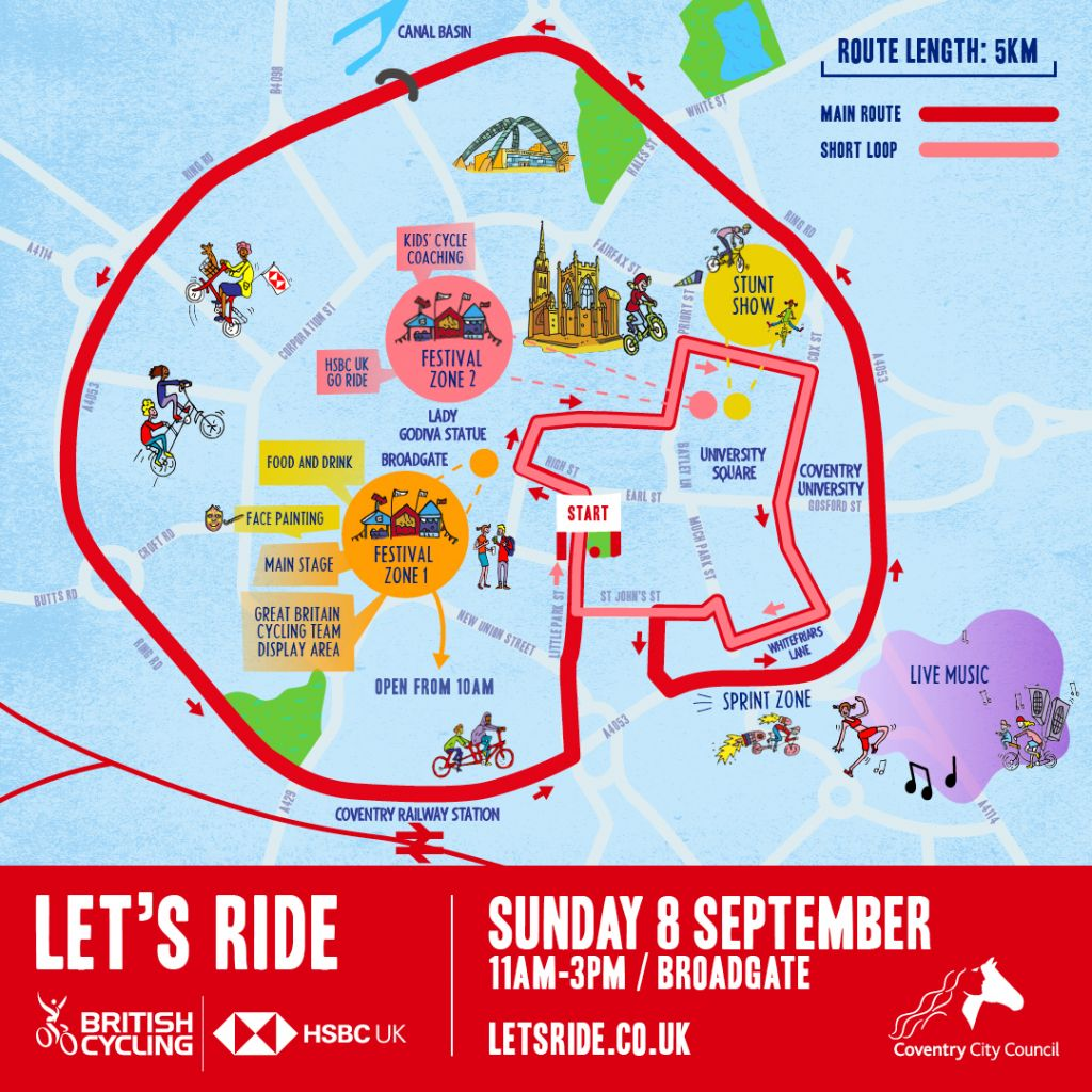 Let's Ride - HSBC UK Let's Ride Coventry