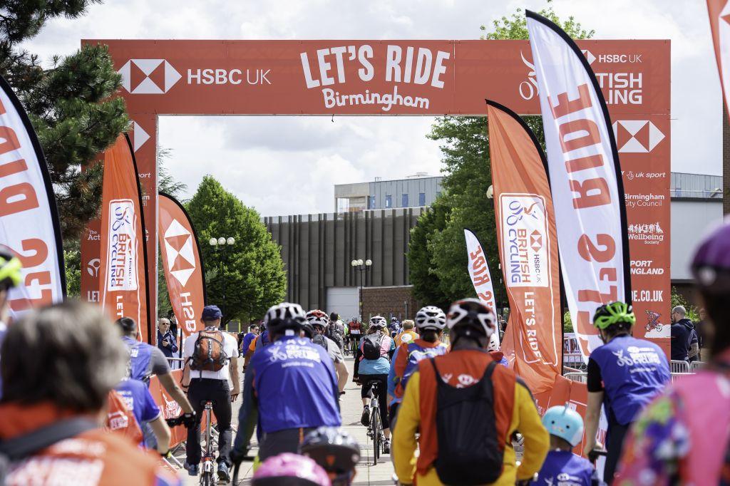 Let's Ride - HSBC UK Let's Ride Birmingham