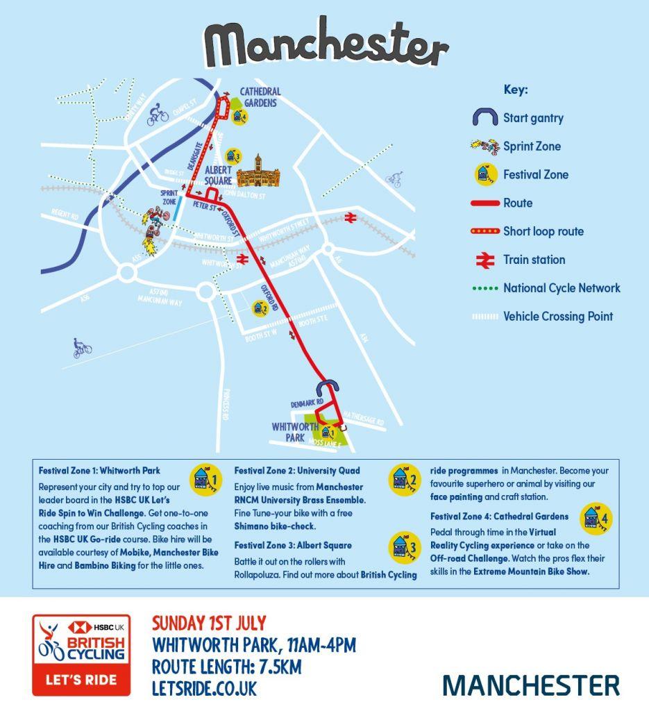 Let\'s Ride - HSBC UK Let\'s Ride Manchester