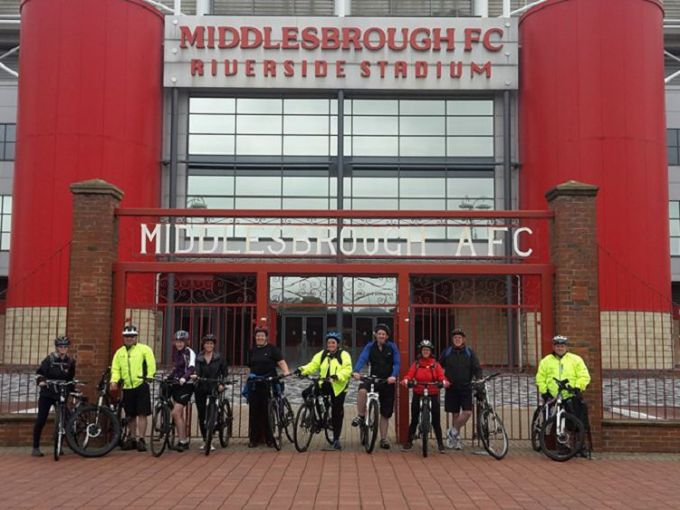 Then went on to complete the Lap of Honour ride.