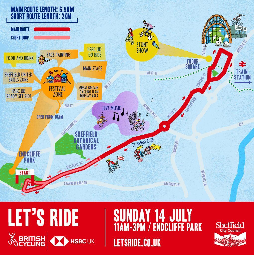 Let's Ride - HSBC UK Let's Ride Sheffield