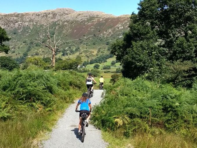 Sky Ride Local, 24th August on the Langdale Trail from Ambleside